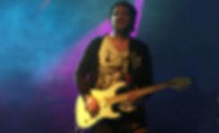Jimmy Westerlund / One Desire plays live Taisto Guitars pure white V25-FR custom guitar