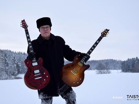 New custom guitar series - AROK