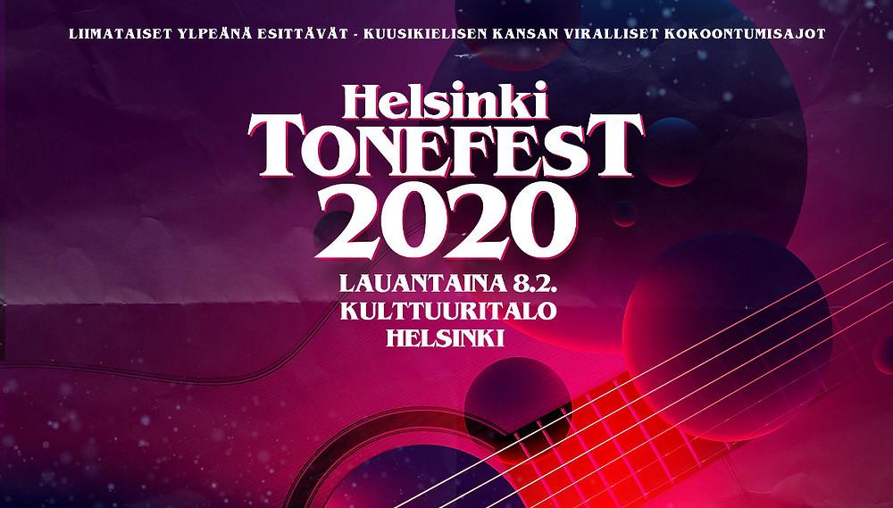 Taisto Guitars will be at Helsinki Tonefest 2020