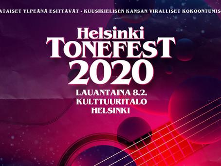 Tomorrow 8th Feb Helsinki Tonefest