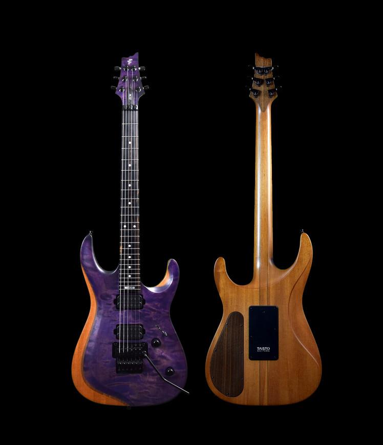 Taisto Guitars - V25-FR ECM Berry