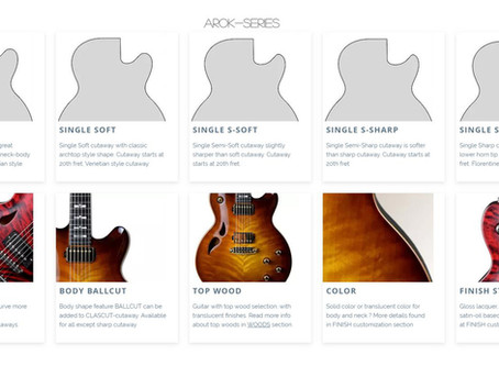 AROK Guitars - Body Customization