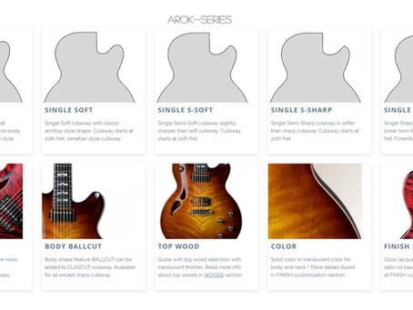 AROK Guitars - Body Customization