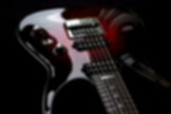 Taisto Guitars V25-ET Evertune with Flower-Dot custom inlays on fretboard