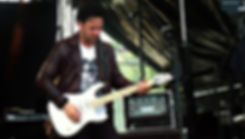 Jimmy Westerlund / One Desire plays live his V25-FX/S custom guitar