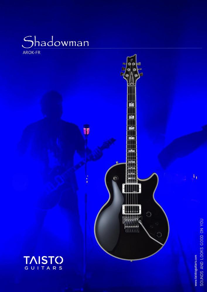 Taisto Guitars AROK-FR Shadowman Product Sheet