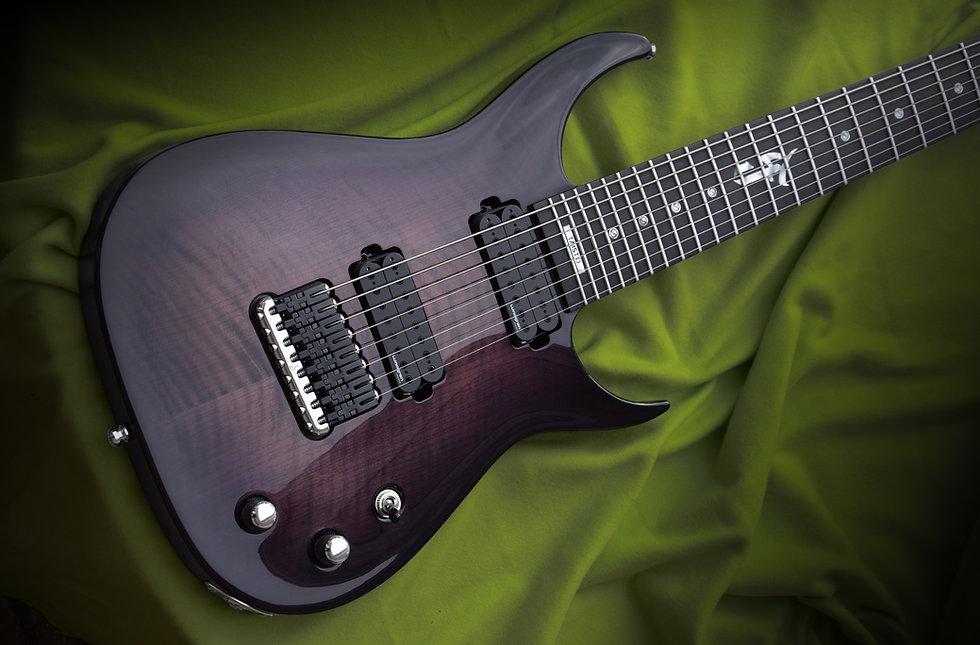 Taisto Guitars V25-FX8/H Skyfire Samuli Federley