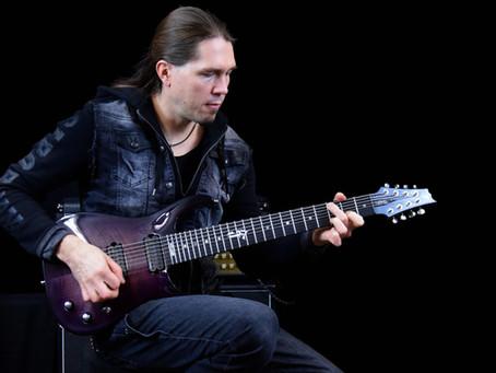 Samuli Federley plays Skyfire guitar