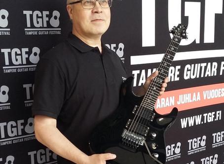 Taisto Guitars at TGF 2016