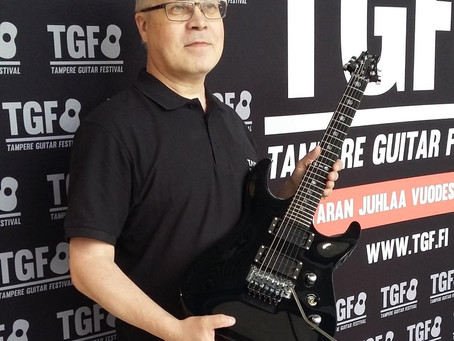 Taisto Guitars at TGF 2016