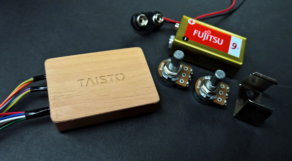 TAISTO B-2EQ1 2-band eq unit for bass guitars