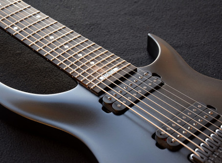 First TAISTO 8-string guitar