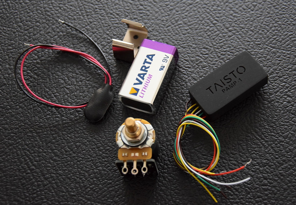 TAISTO preamp booster kit for custom guitars