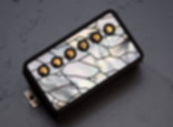 Taisto Pickup Cover with Cracked Ice inlay on top