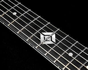 Standard dot inlay with 12th fret custom inlay