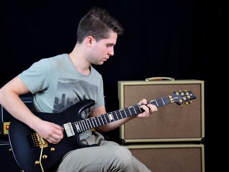 V25-FR plus2 Guitar Setup Testing