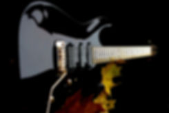 Taisto Guitars V25-VT custom guitar with 2-point Schaller vintage tremolo and DiMarzio pickups