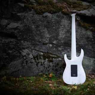 iZEN-5MS headless bass against the rock