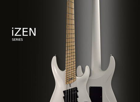 iZEN series bass guitars