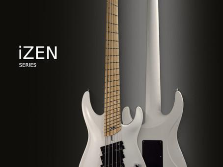 iZEN series bass guitars