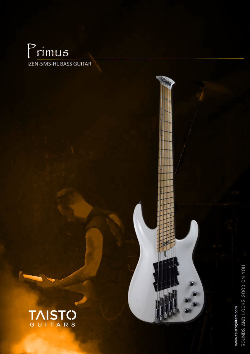 Taisto Guitars iZEN-5MS-HL Primus