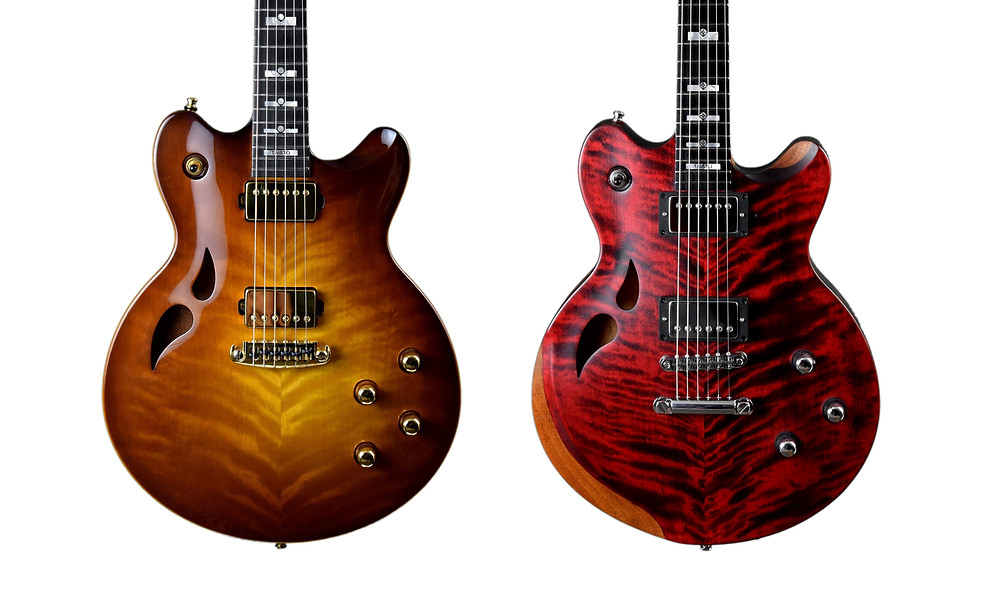 AROK-WG and AROK-TM Custom Guitars
