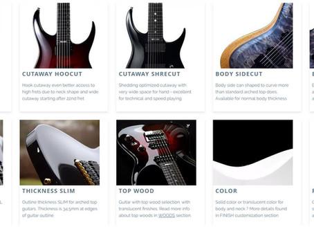 Guitar Body Customization