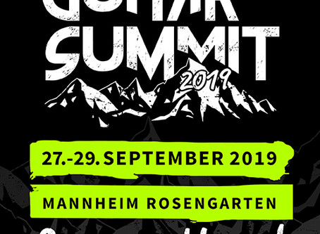 Booked to Guitar Summit, Mannheim