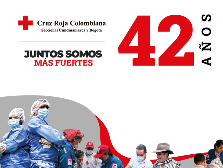 Cruz Roja Seccional Cundinamarca y Bogotá: 42 años trabajando por quienes más nos necesitan
