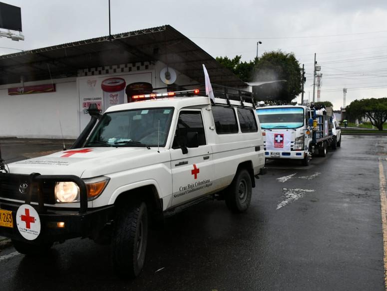 La Cruz Roja Colombiana hace un llamado al respeto por las misiones humanitarias
