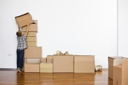 Young-Family-Moving-Into-New-Home