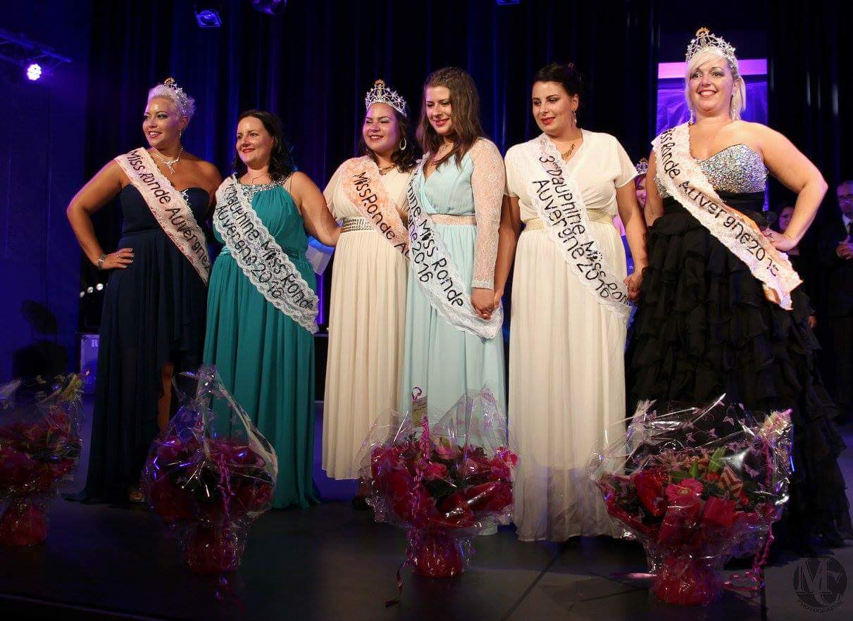 Elections Miss Ronde Auvergne 2016