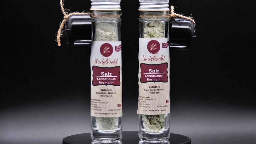 Salz - Schnittlauch / Rosmarin