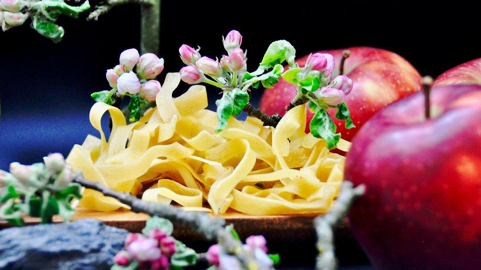 Bandnudeln - Apfel