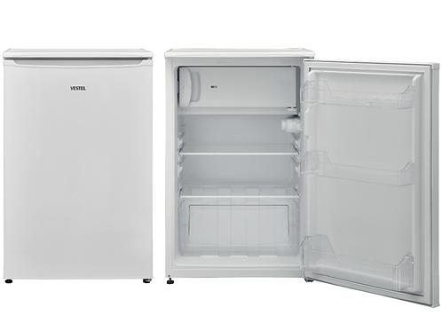 VESTEL Typ: KVF041W2 EEK:  A++ Tisch-Kühlschrank Gefrierfach Farbe Weiß