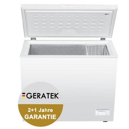 Geratek Oulo GT 2200 W A++  Gefriertruhe 200 Liter Inklusive Korb