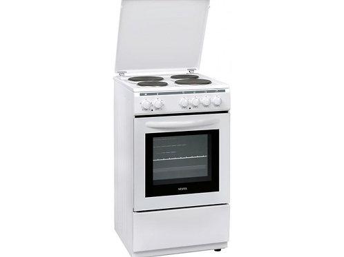 Vestel Typ: VFHS5050 EEK:A Standherd Kochplatten 50cm Weiß