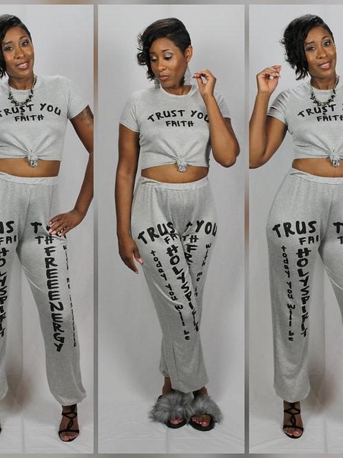 Trust Faith Set Grey