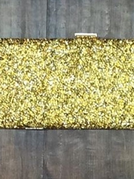 All About The Glitter Clutch