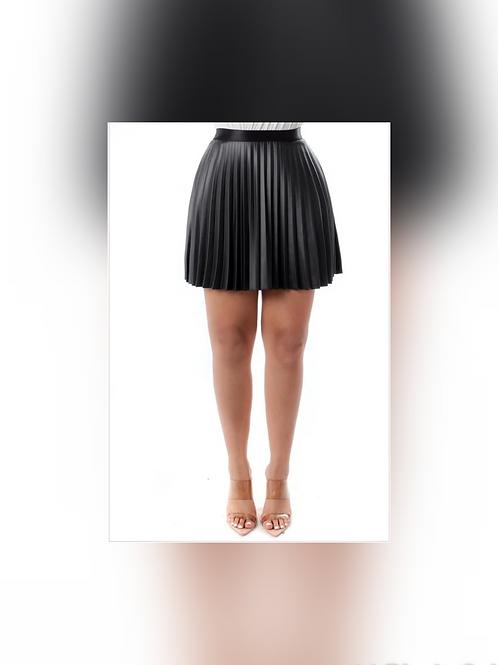 Tatiana Pleated Mini Skirt