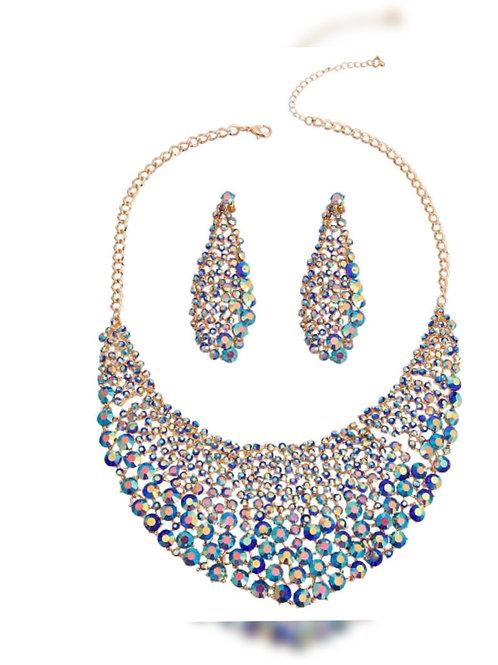 Brilliancy Crystal Necklace  Set