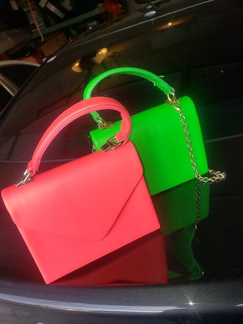 Neon Petite Messenger Bag