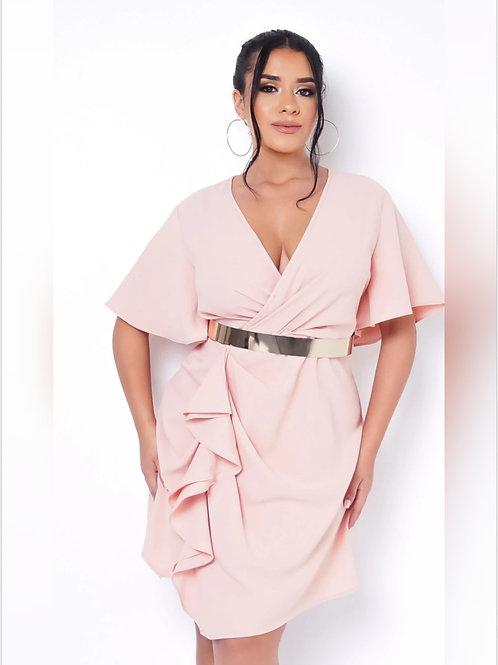 Chelsea Pink Mini Dress