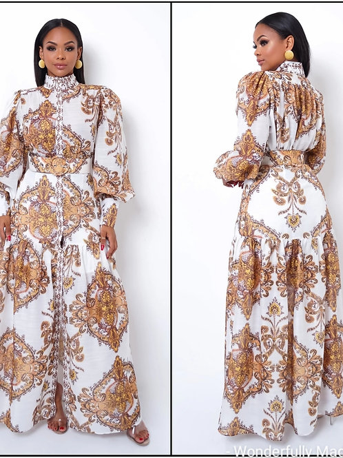 ROYALTY Maxi Dress