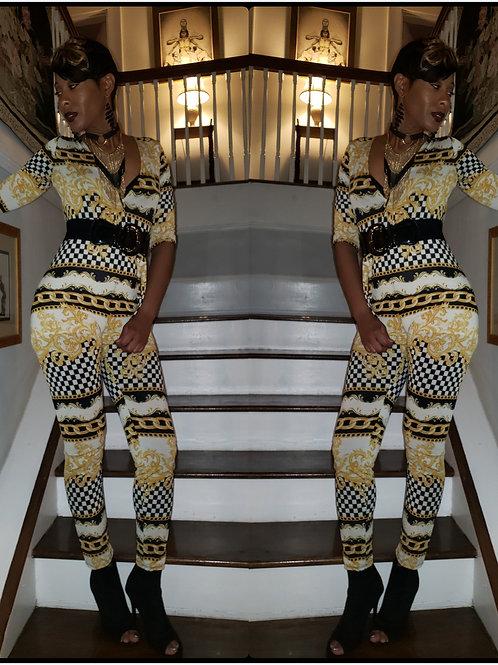 Gold Chain Jumpsuit