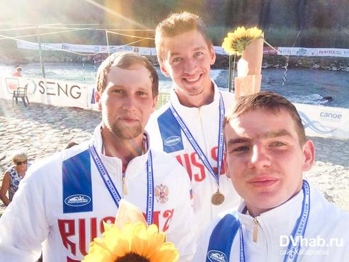 Александр Непогодин выиграл две медали первенства Европы по гребному слалому