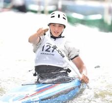 Елизавета Терехова завоевала золотые медали первенства России по гребному слалому