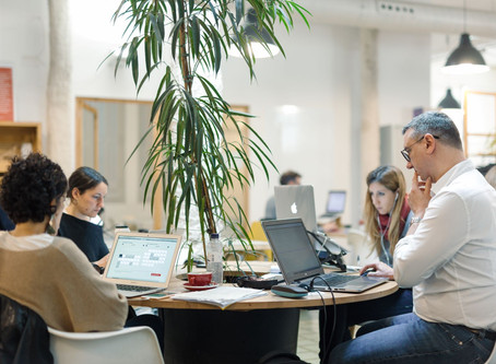 Our first coworking connection