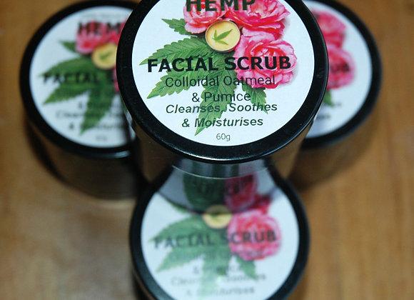 Hemp Facial Scrub