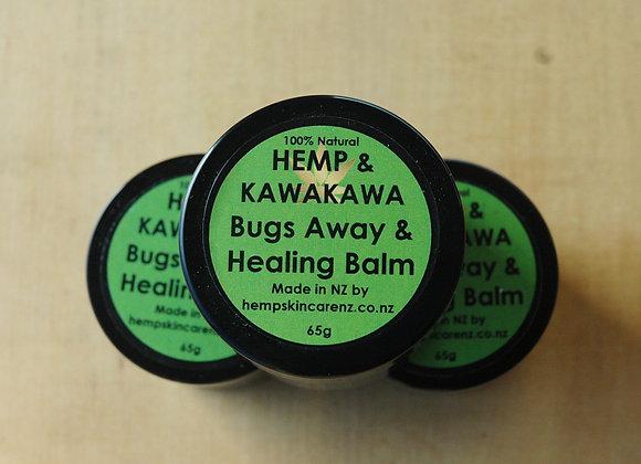Bugs Away - Hemp & Kawakawa Healing Balm